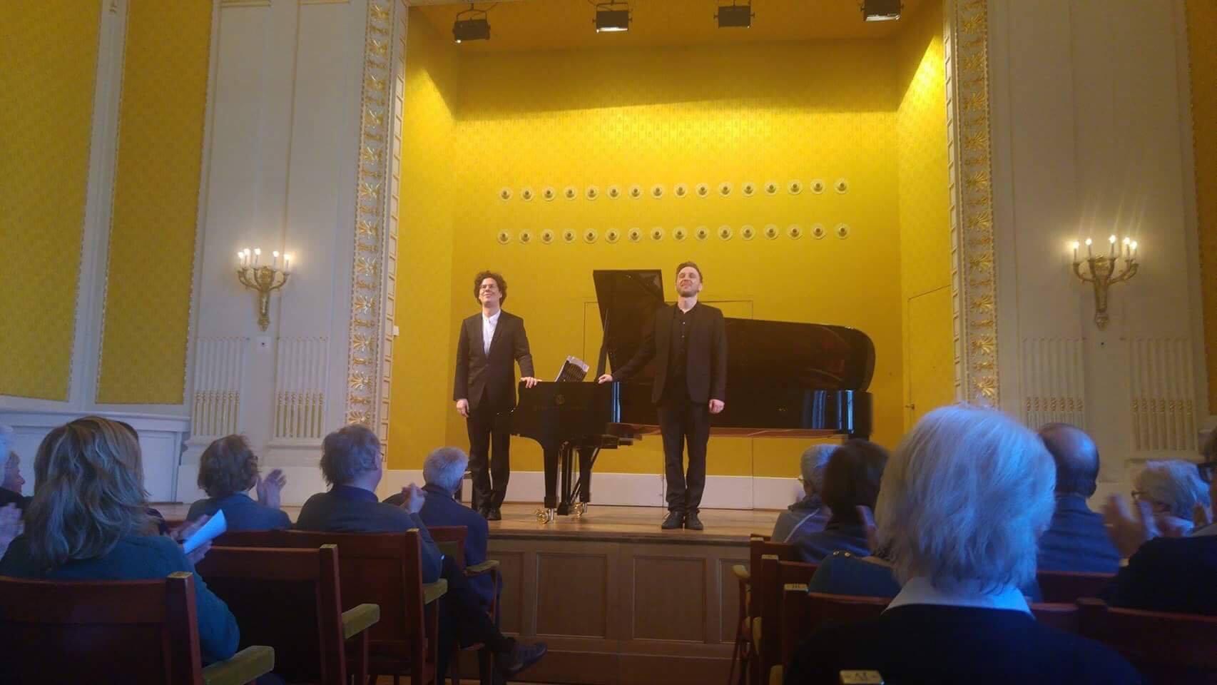 Liedmatinée with Rafael Fingerlos - Konzerthaus Vienna