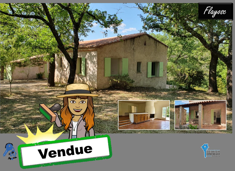 Flayosc - 317 000 € - 120 m² -  3 chambres - Terrain 3900 m²