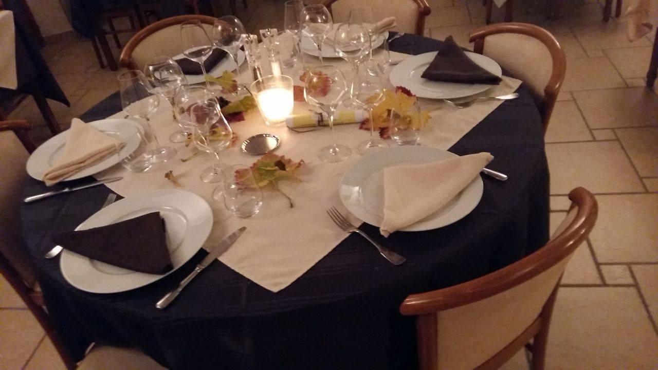 Table au restaurant Le Cigalon à Flayosc