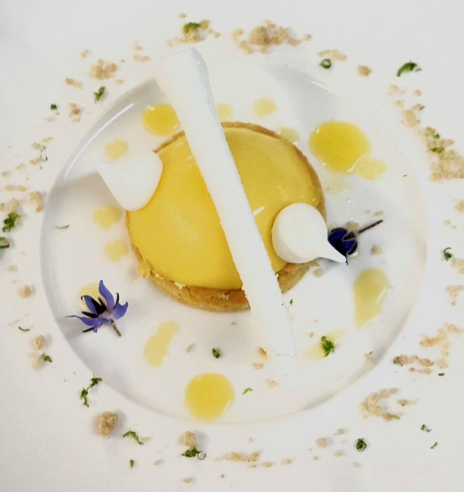 Sablé au citron - Restaurant Le Cigalon à Flayosc