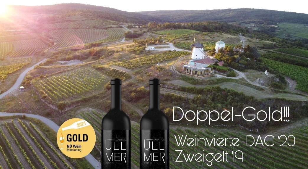 Doppel-GOLD NÖ Weinprämierung 2021