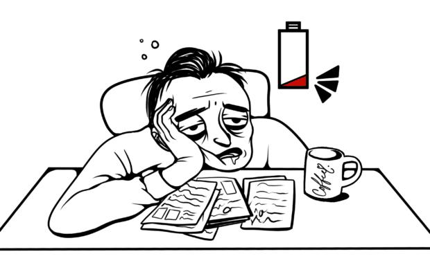 現代人に多い慢性的疲労