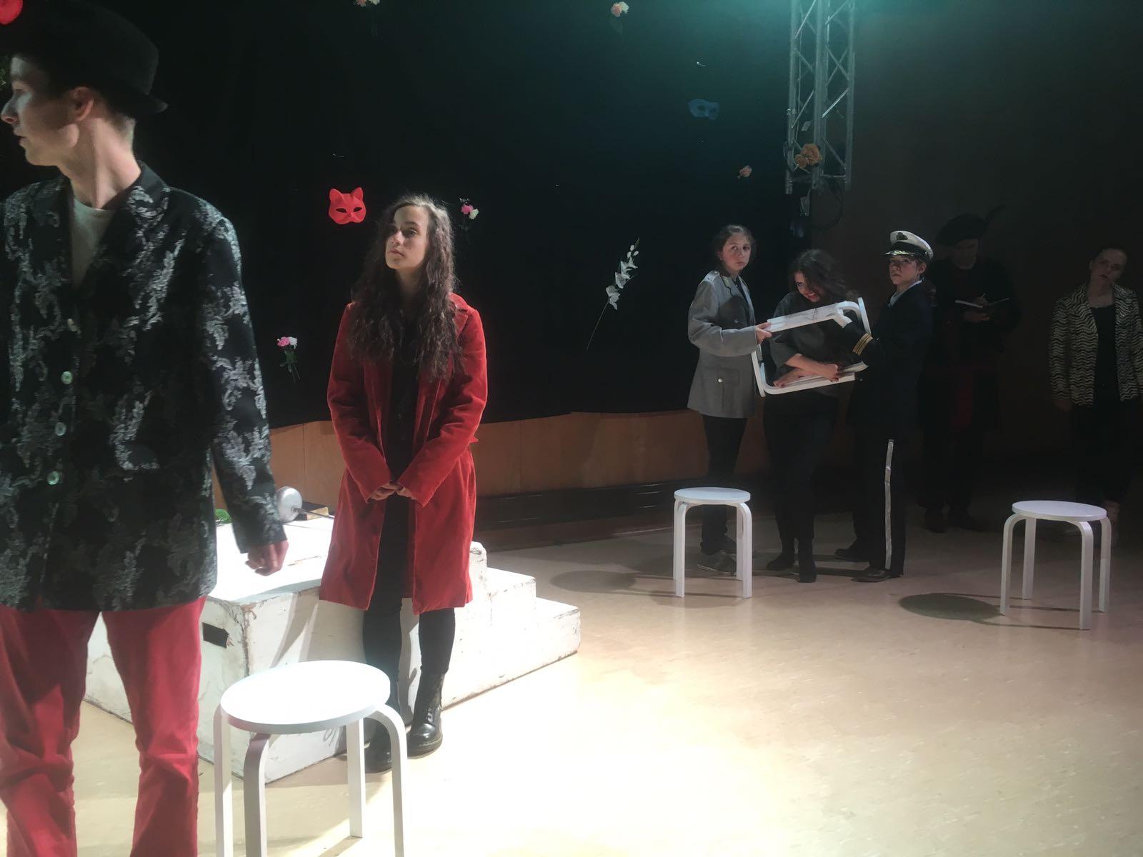 """Inszenierung Shakespeares """"Viel Lärm um nichts"""" 2018"""