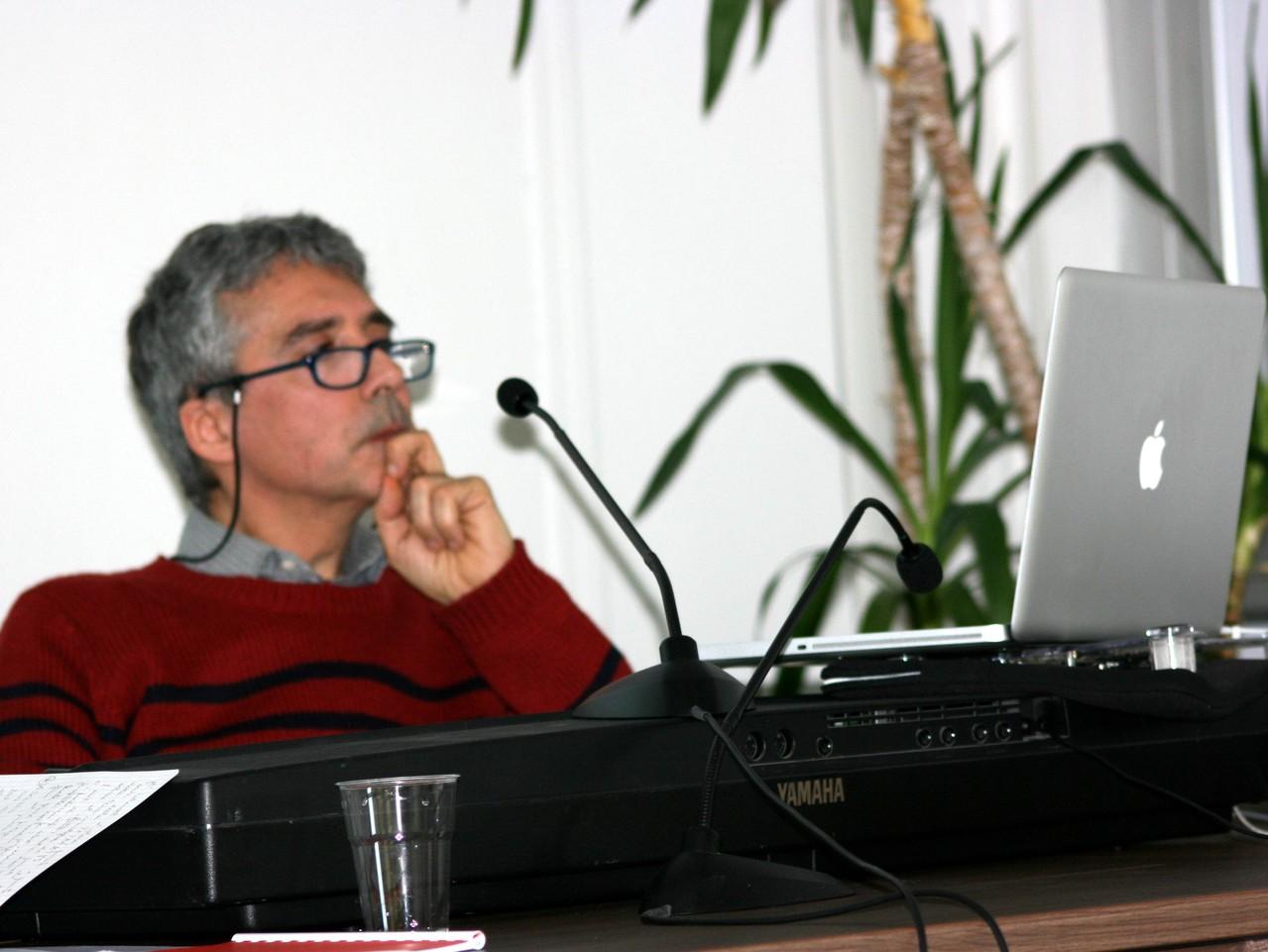 Il maestro Nadir Matteucci