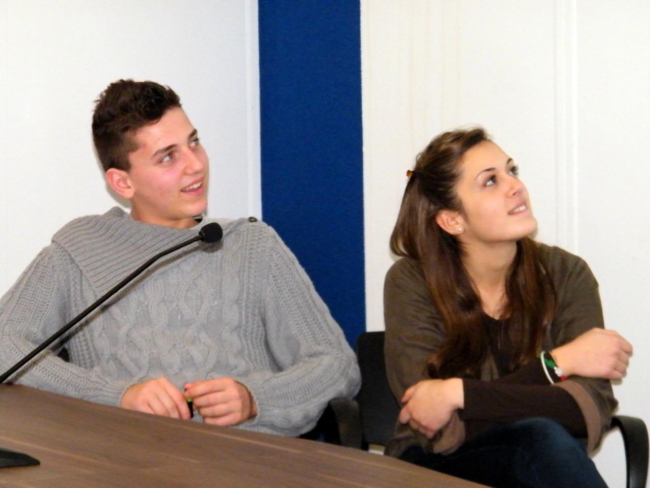 Luca Spaccino e Martina Rosati, rientrati da Salo (FI) a metà Novembre