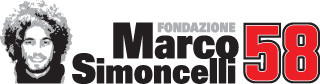 Il logo della Fondazione Marco Simoncelli