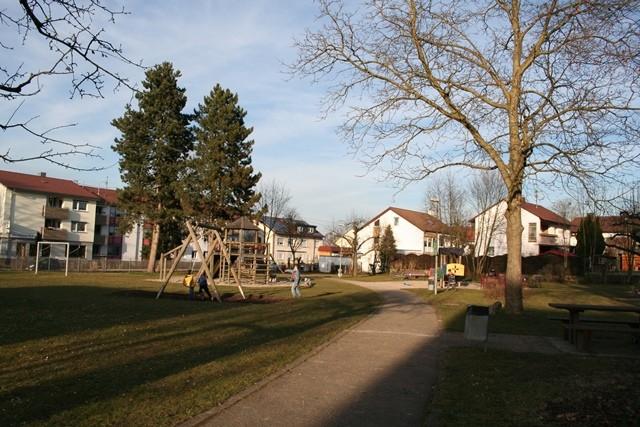 Spielplatz in der Nähe