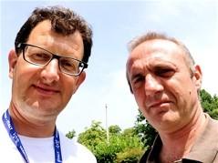 con Ivo Antognini