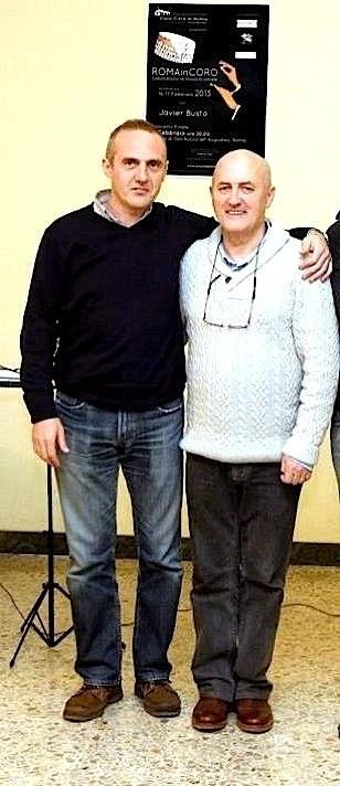 con Javier Busto