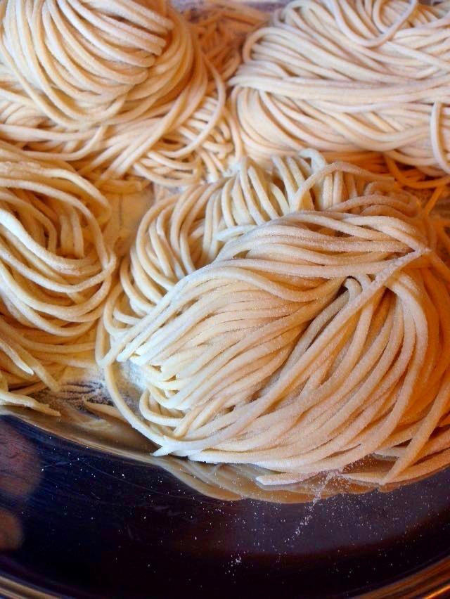 Hausgemachte Pasta