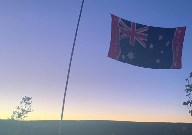 """Lest we forget!"" - ANZAC Day celebrations were kicked off with a dawn-service"