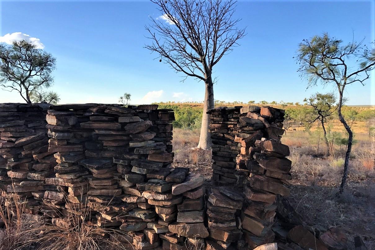 The ruins at Kachana's 'Timbuktu'