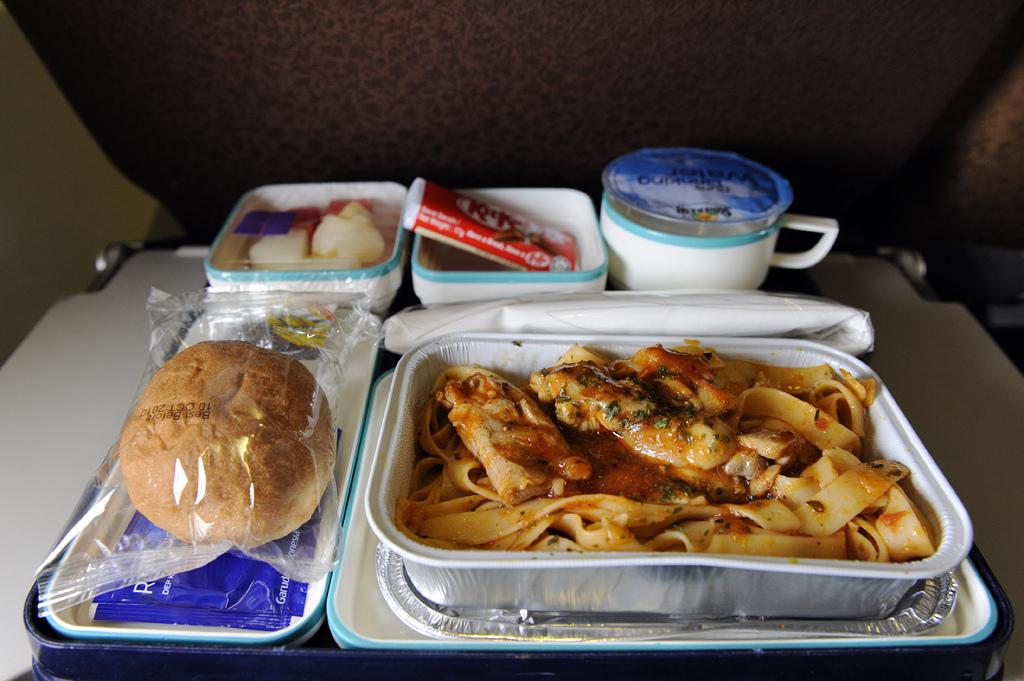 Eten niet lekker? De cabine druk zorgt voor een mindere smaak in je mond.