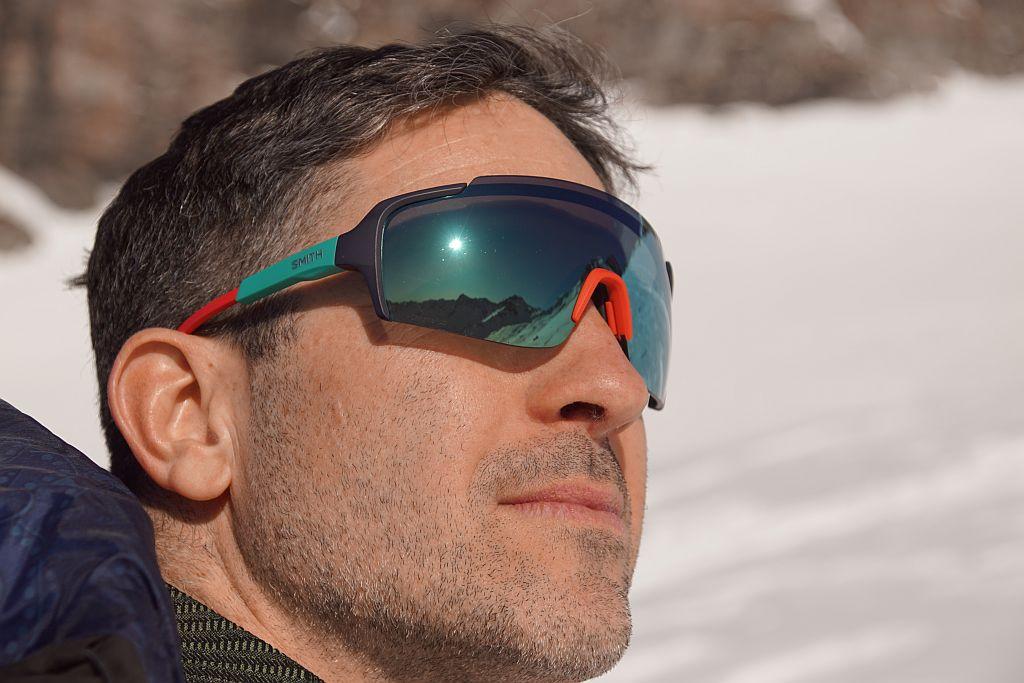 Im Sonnenschein spiegeln sich die umliegenden 3000ern in der Sonnenbrille, beim Hinweg zum Kleinen Ankogel hat man einen herrlichen Blick zur Hochalm