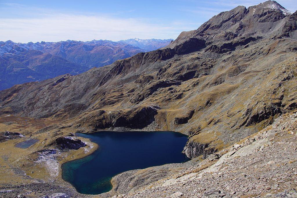 Der 50m tiefe Alkuser See