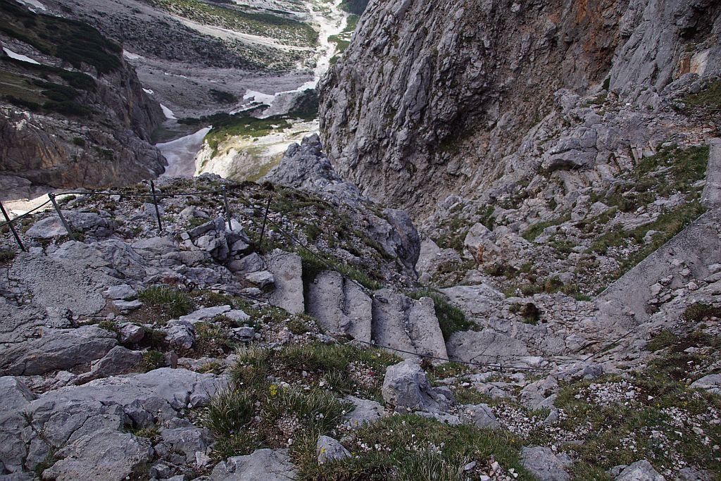 Abstieg vom Riemannhaus