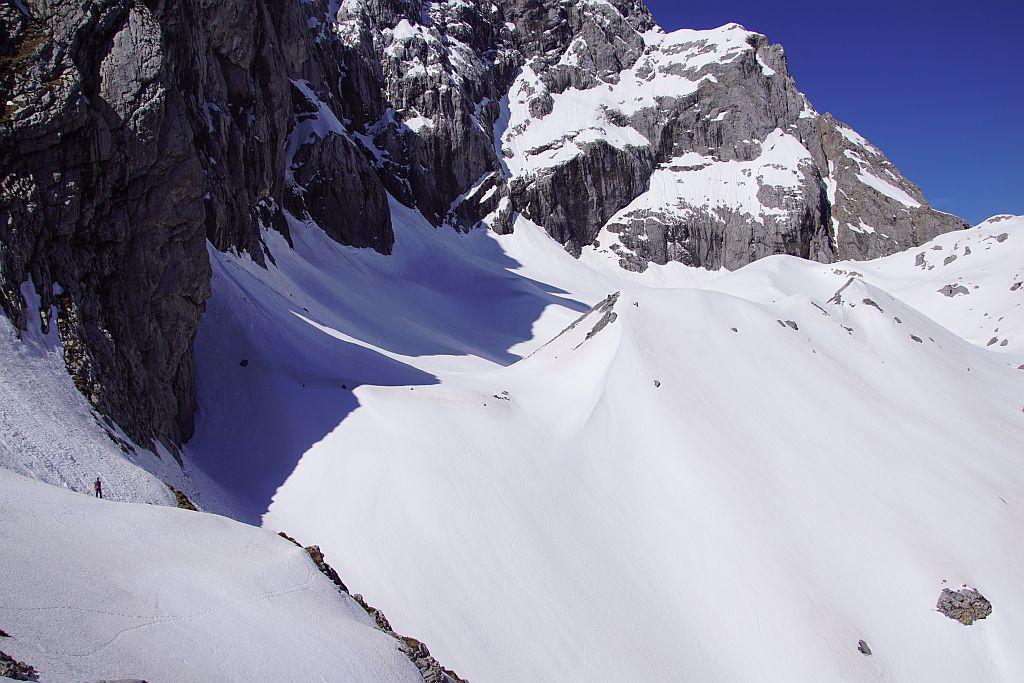 Blick von Osten über den Gletscher