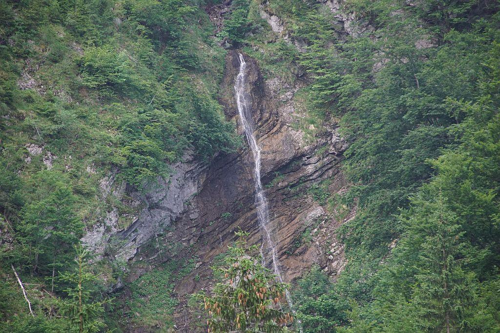 Wasserfall am Ende des Bärengrabens