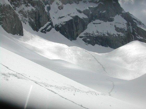 Der östliche Teil des Eiskars