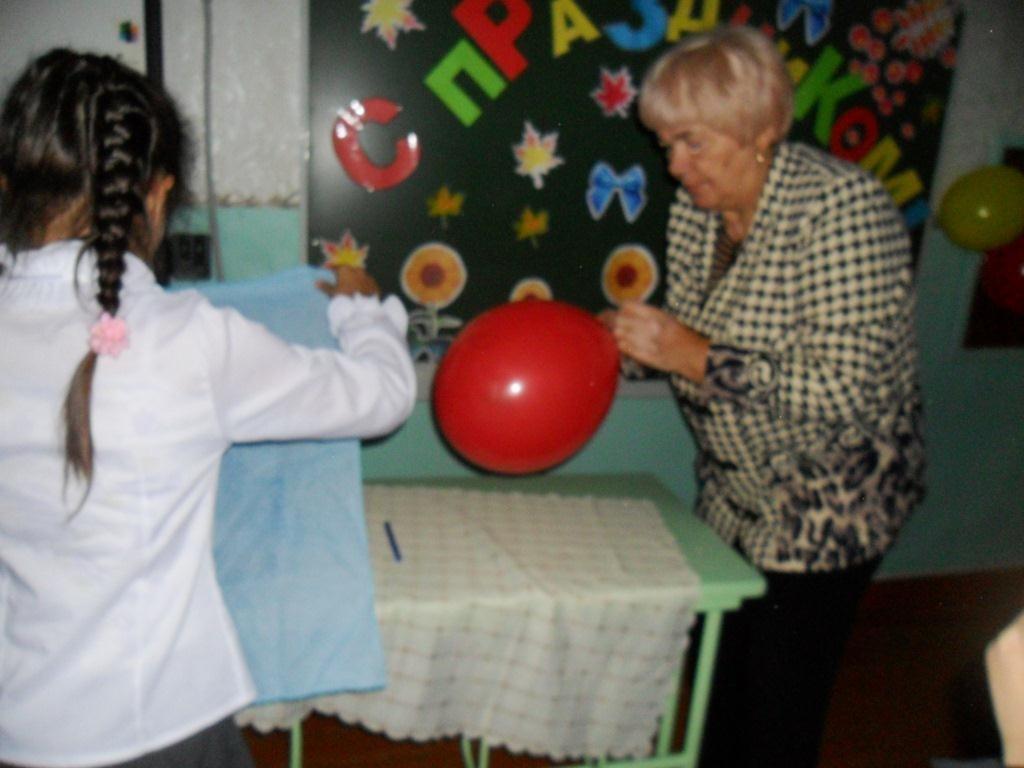 Изготовление куклы из шарика
