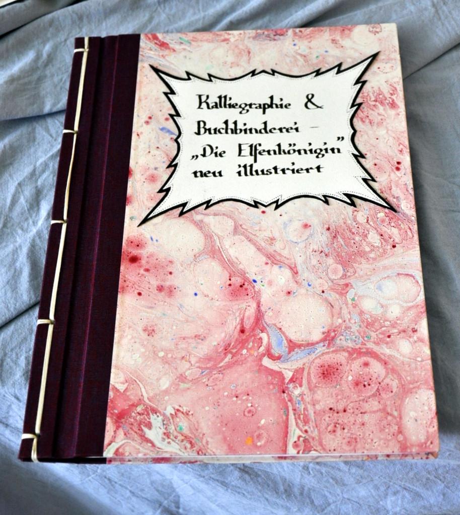Kalligrafie und Buchbinderei