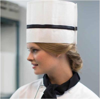 Gorro italiano para chef - Ecoequipos (33) 3613 6019 75b374d8cd2