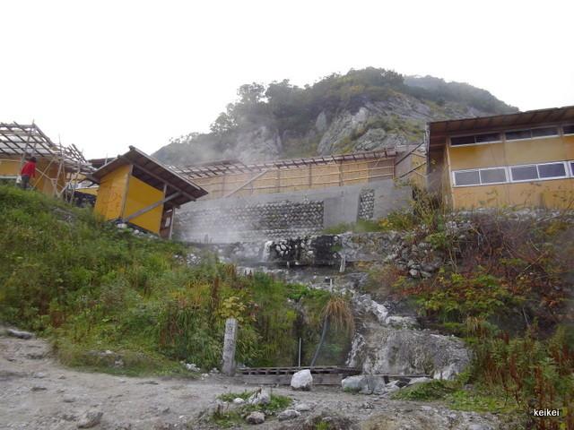 白馬三山 温泉