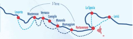 Plan Navette Fluviale - Cinque Terre