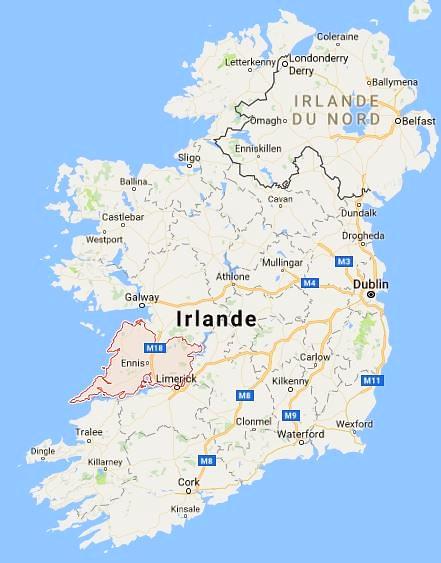 - Comté de Clare - Google Maps -