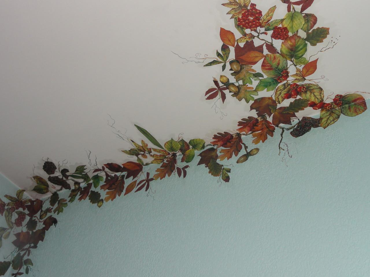 Technique décorative du plafond