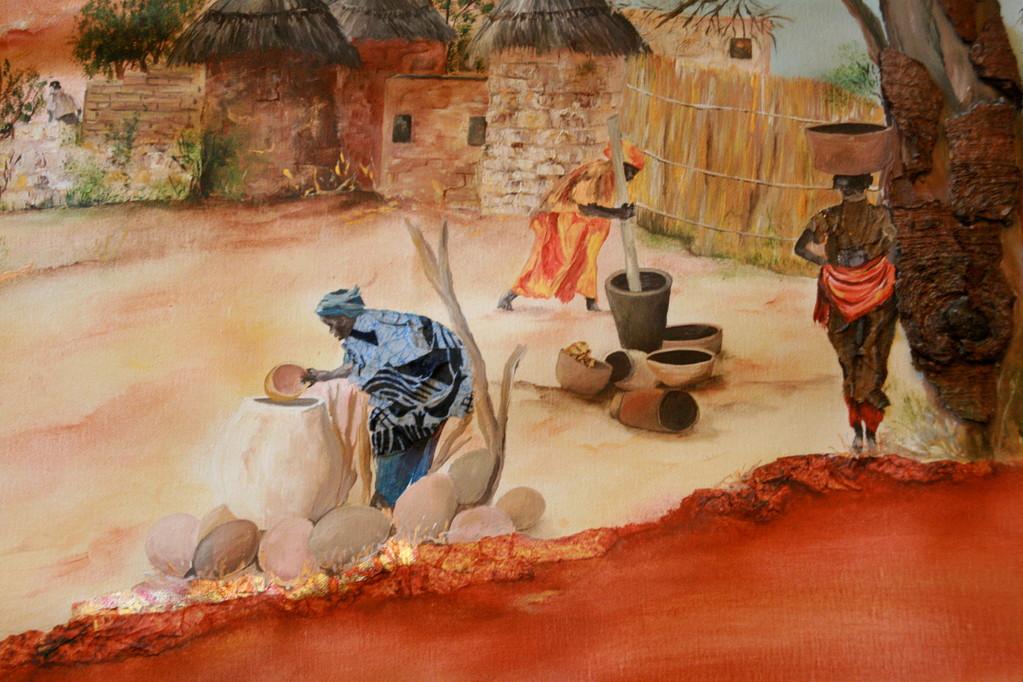Tenture malienne