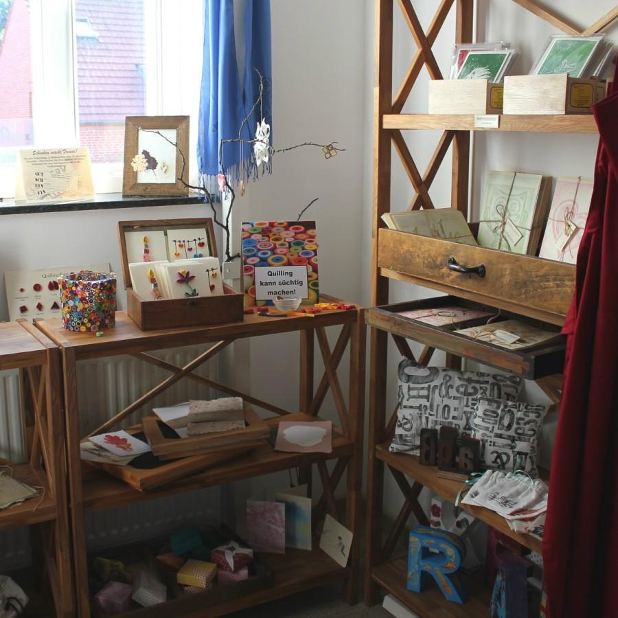 Zwei Jahre lang gab es einen kleinen Shop (Delmenhorst)