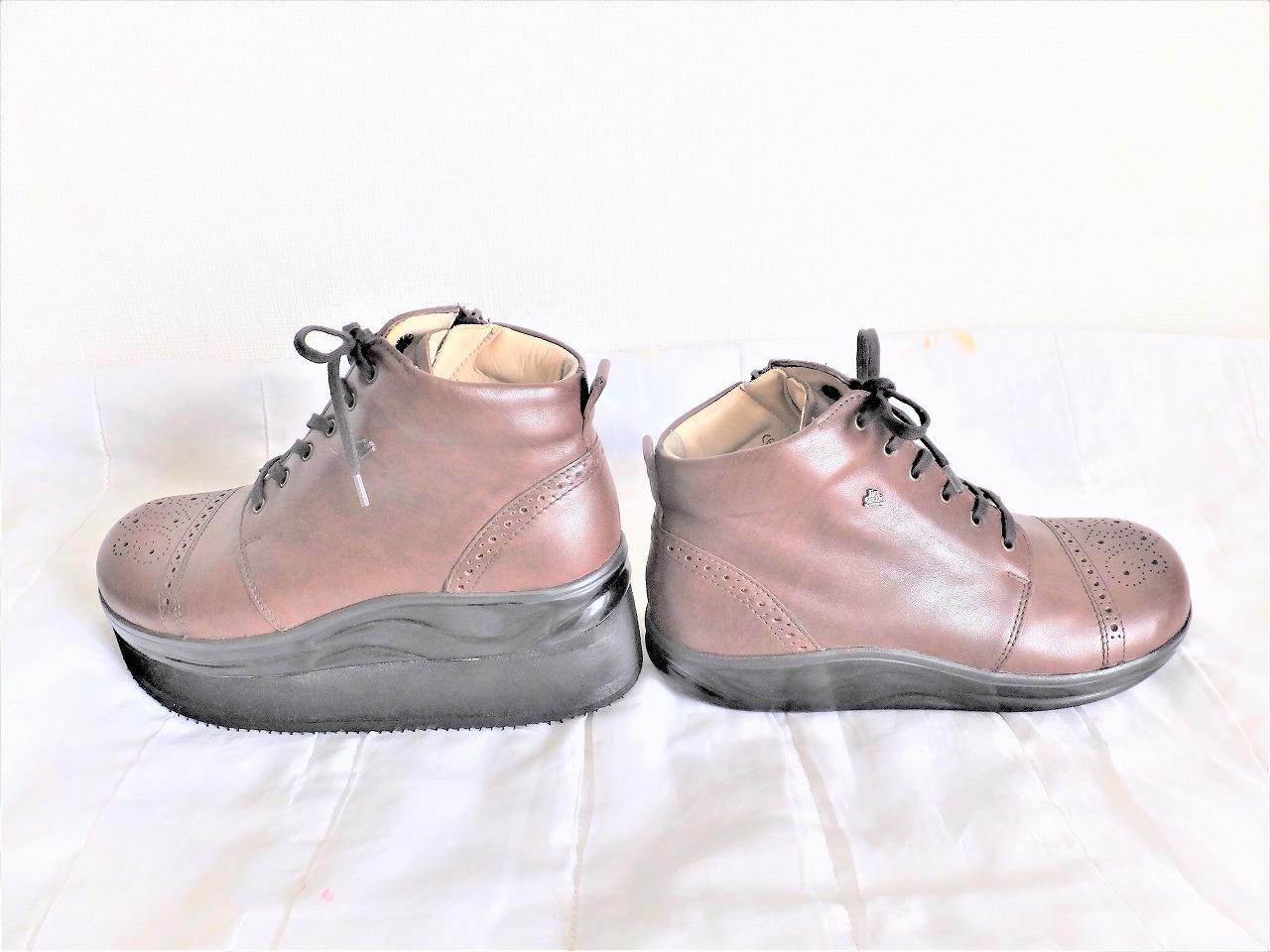 Finn Comfortのブーツを補高しました。