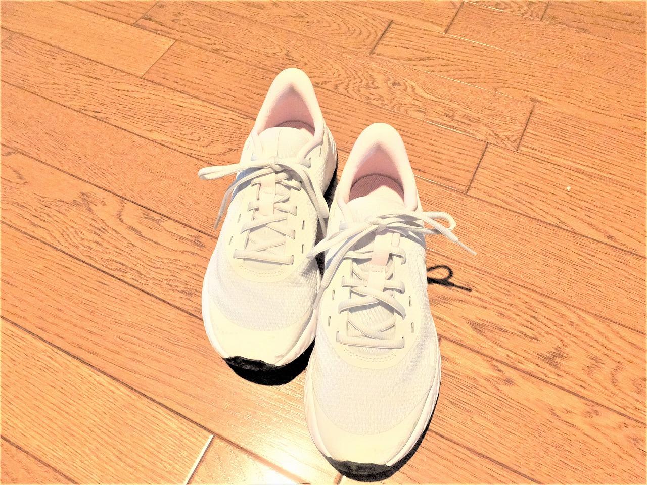 紐靴に挑戦