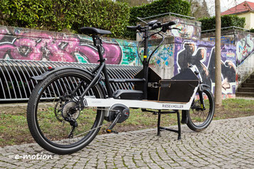 Riese & Müller - Der Elektromotor und die Fahreigenschaften des Packster 40