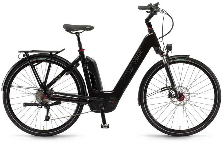 Winora Sinus Ena 10 - City e-Bike / XXL e-Bike - 2018