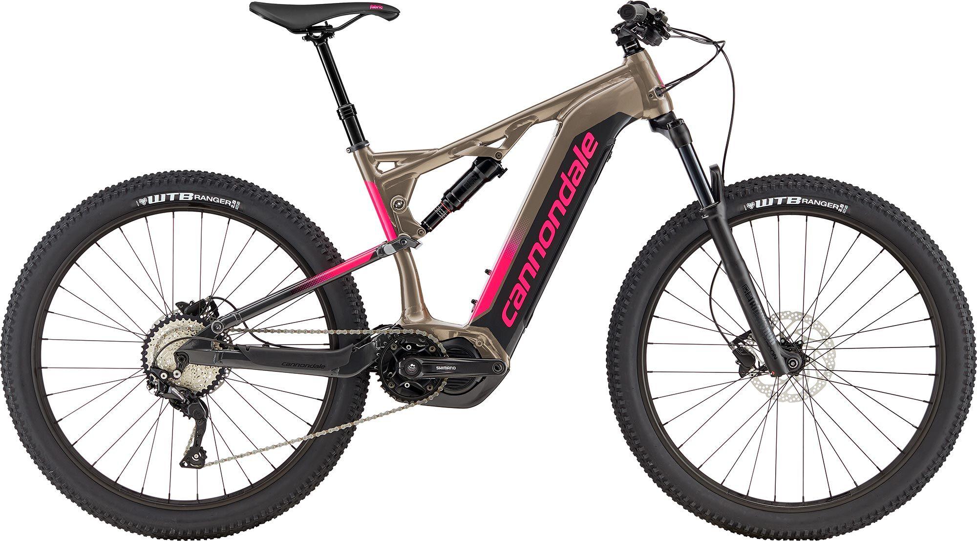 Cannondale e-Mountainbike Cujo Neo Women 4 2019 - grau pink
