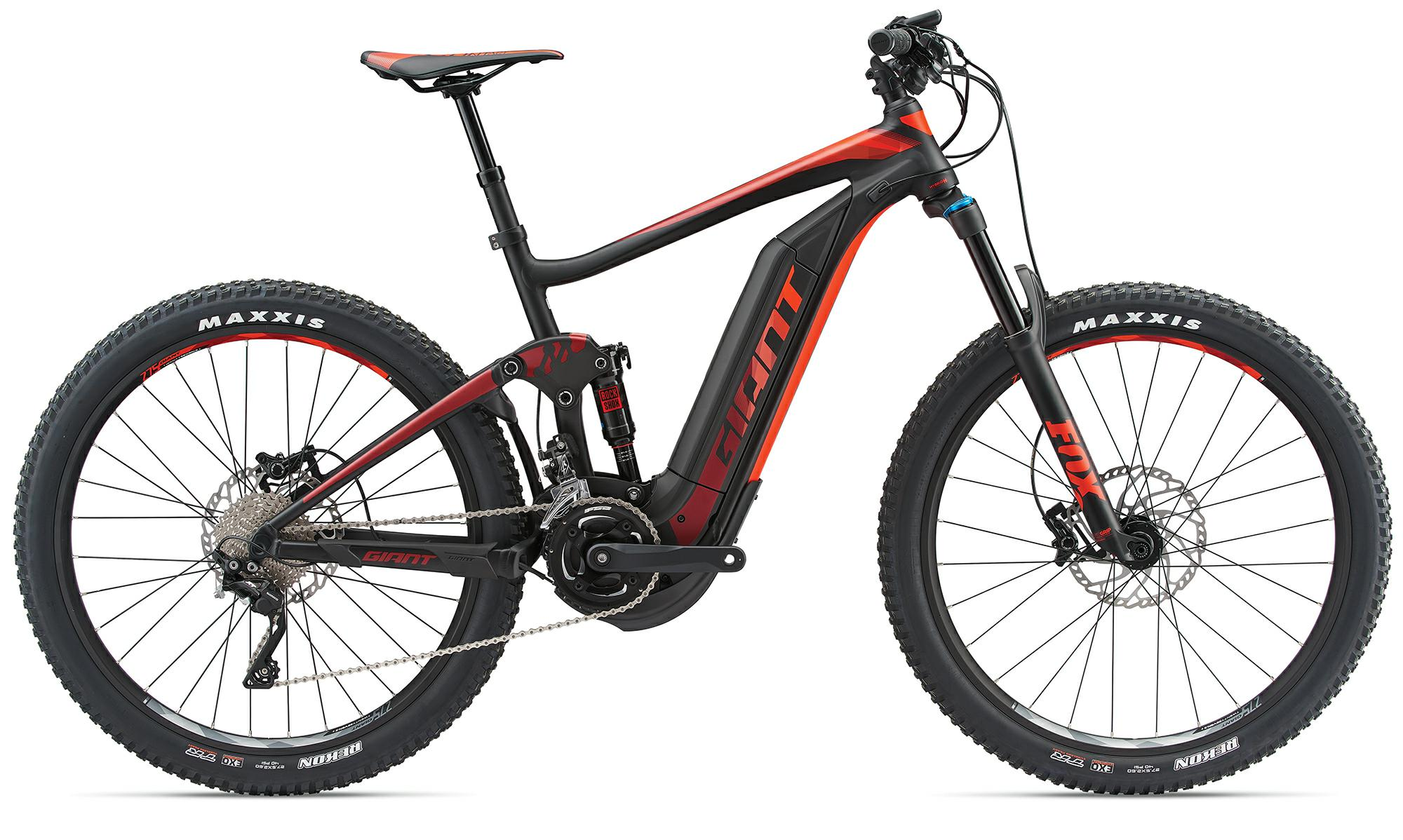 Giant Full-E+ 1.5 Pro - e-Mountainbike 2018 - rot