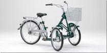 Frontdreiräder - Pfau-Tec Bene Dreirad - Dreirad für Erwachsene - 2018
