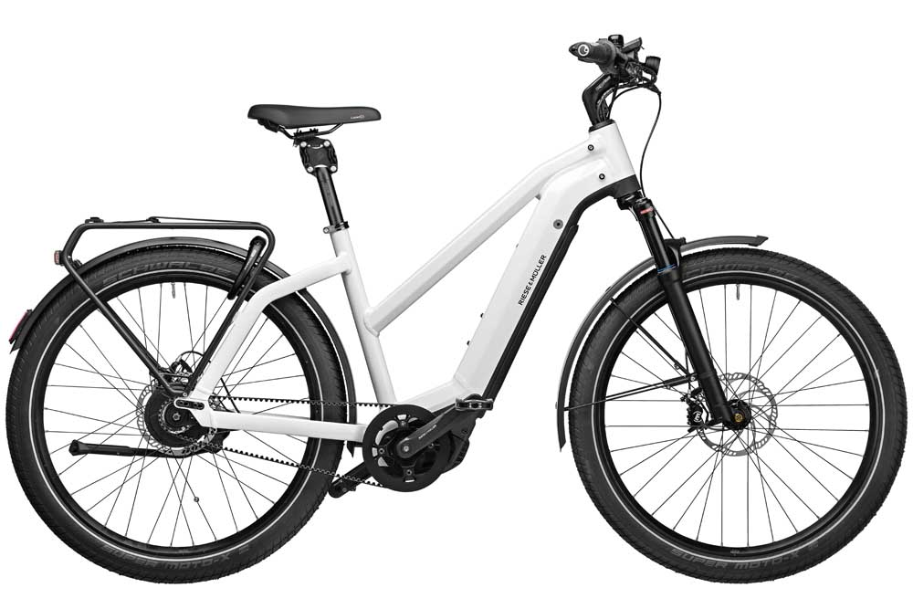 Riese & Müller Charger3 GT Mixte vario - ceramic white