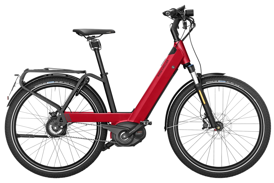 Riese & Müller Nevo GT Vario HS - 2019 electric red metallic