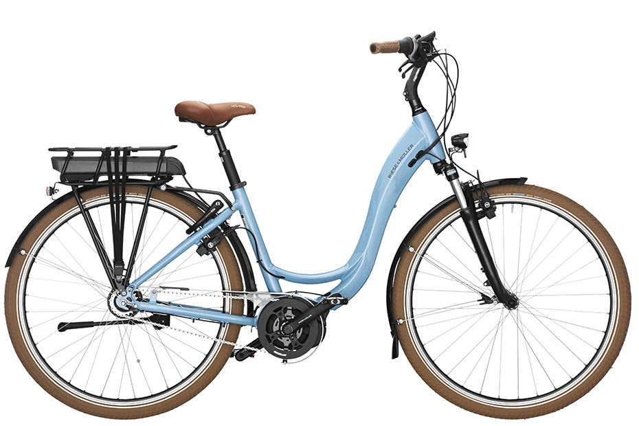 Riese & Müller Swing City 2019 pastel blue