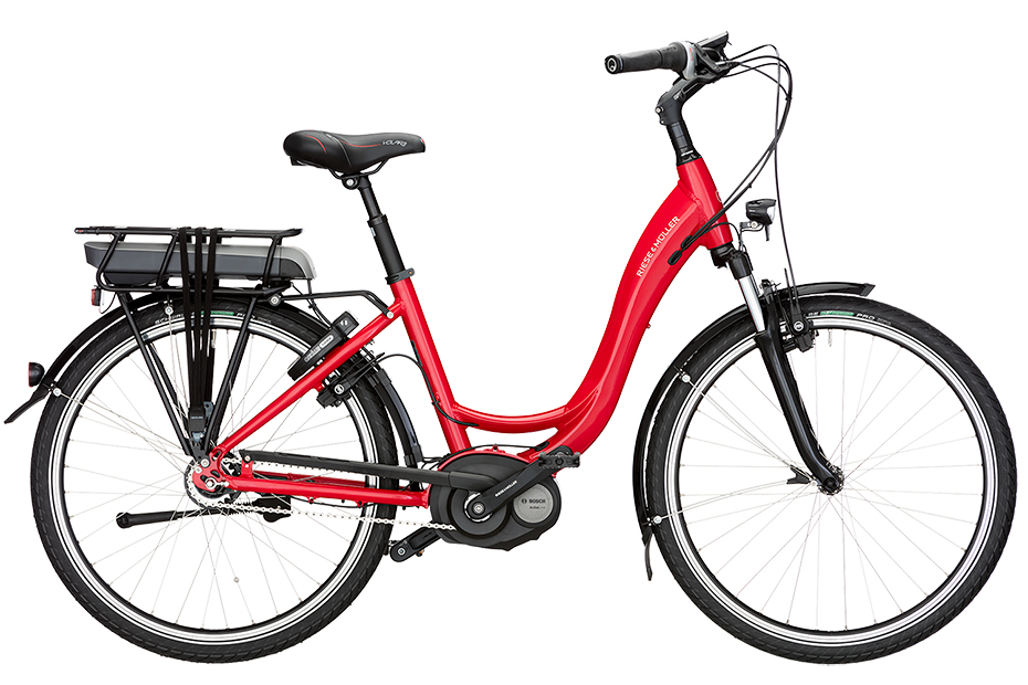 Riese & Müller Swing Vario Active Plus 2019 - rot