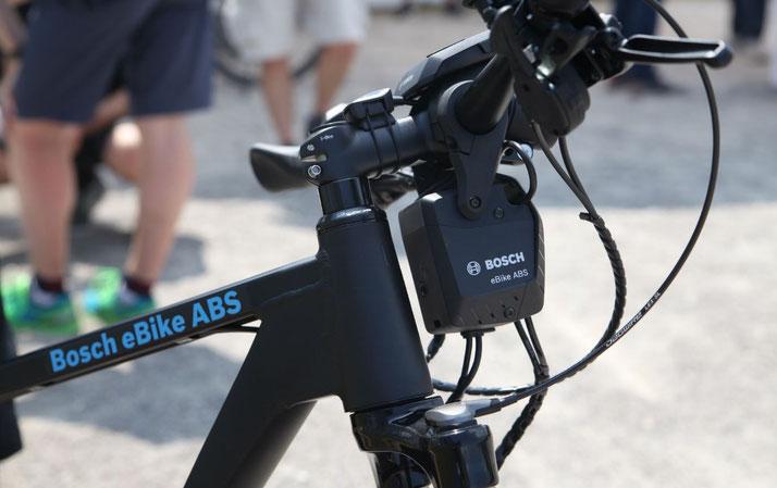 e-Bikes mit Antiblockiersystem (ABS) - 2018