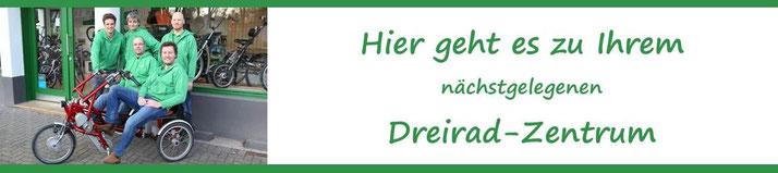Zu den Dreirad für Erwachsene Experten vom Dreirad-Zentrum in Österreich