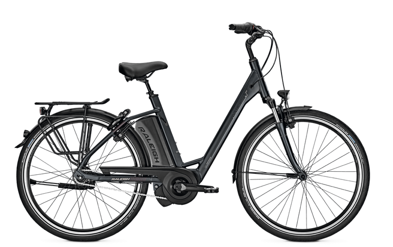 Raleigh Boston 8 - 2018 - schwarz