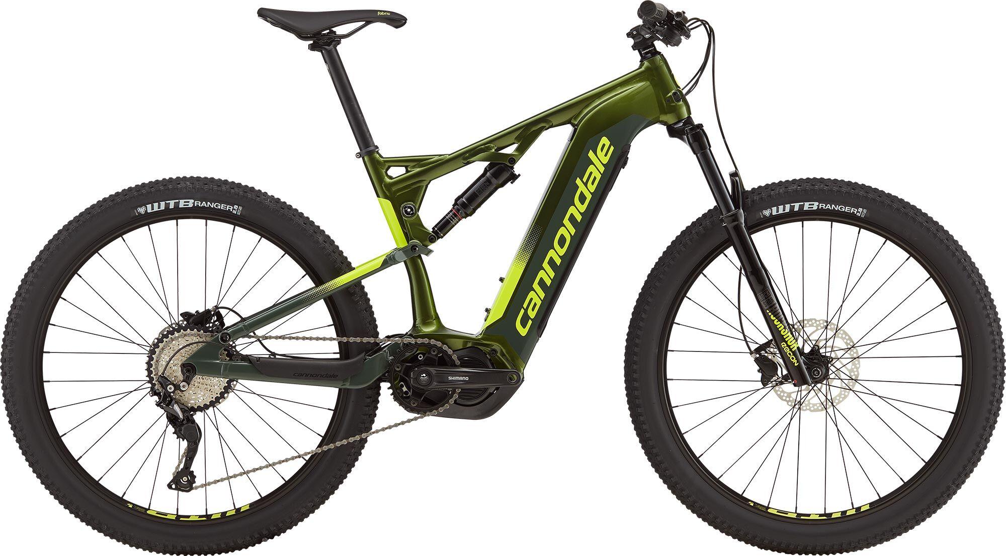 Cannondale e-Mountainbike Cujo Neo 4 2019 - gelb grün
