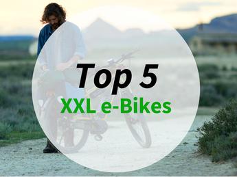 Top 5 XXL e-Bikes