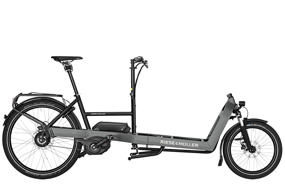 Riese & Müller Packster 60 Touring HS 2019 - urban grey