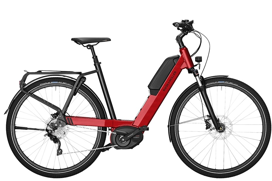 Riese & Müller Nevo Touring/ Touring HS 2019 - fire red